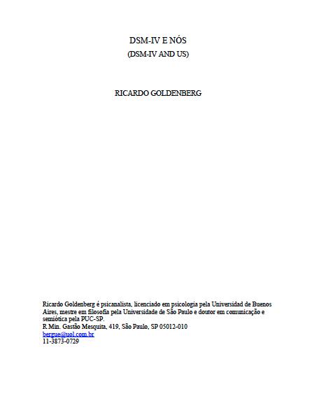 DSM-IV_ricardo-goldenberg